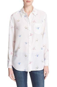 EQUIPMENT 'Reese' Silk Print Shirt. #equipment #cloth #