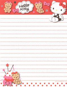 "https://flic.kr/p/e3rFYR   Sanrio Hello Kitty Letter Set (""Checks"")"