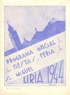 Cubierta Libro de Fiestas de 1944
