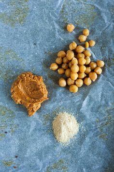 jadłonomia · roślinne przepisy: Bezglutenowe ciastka z ciecierzycy