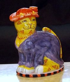 CM Redwine Pacfic Giftware CAT Piggy Bank
