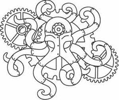 Steam Octopus_image