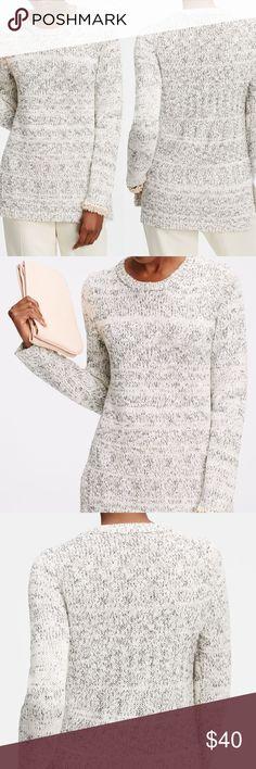 4ccbac514c LOFT Ann Taylor Marled Tunic Sweater sz Medium