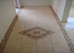 Tile inlayed detail in wood floor match the shower to the ceramic tile kitchen floors utilizing numerous ceramic tile ground styles is becoming very typical ppazfo