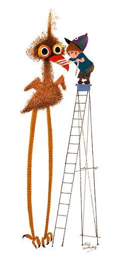 Pluk van de petteflat. Illustratie: Fiep Westendorp.