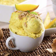 Helado de Mango y Yoghurt
