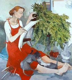 Neş'e Erdok (1940 – ) – Ressam Atölyesinde