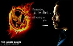 """""""I always channel my emotions into my work.  That way I don't hurt anyone but myself."""" ~Cinna"""