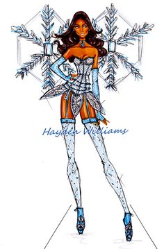 VS Angels collection by Hayden Williams: Shimmering Snowflake