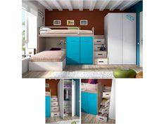Dormitorio juvenil. Bunk Beds  #furniture  #muebles #Málaga  http://www.decorhaus.es/es/