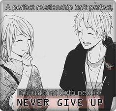 So True... Our Relation Wasn't Perfect But Even Tho We're Not Together Doesn't Mean It Wont Be Perfect In The Future.