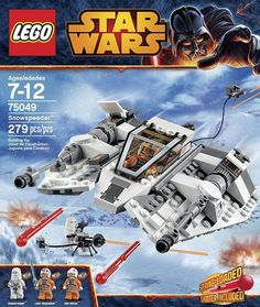 LEGO Star Wars 75049 Snowspeeder Building Toy 279 peices Brand NEW Free Shipping #LEGO