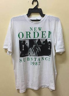 Vintage 1990 ELECTRONIC NEW ORDER THE SMITHS t shirt gildan reprint