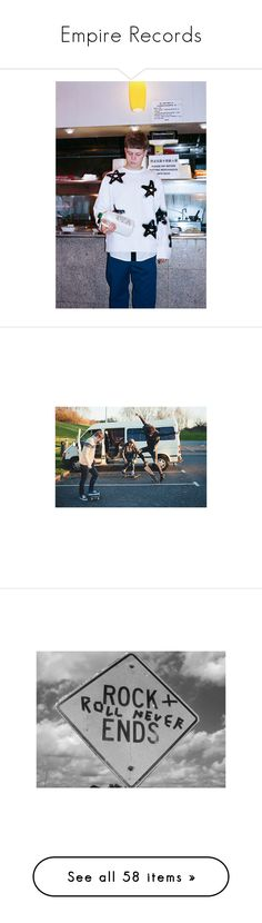 """""""Empire Records"""" by whatthebutler ❤ liked on Polyvore featuring pictures, photos, people, backgrounds, pics, filler, quotes, words, black and white and text"""