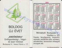 1976 - 1976_0557 - Régi magyar kártyanaptárak