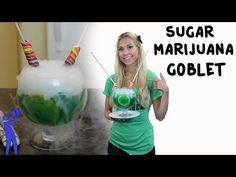 No worries, there is no Marijuana in this ▶ Sugar Marijuana Goblet - Tipsy Bartender - YouTube