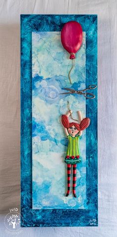 julD handmade: The girl with the balloon