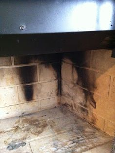 Chimneysaver Paint N Peel Fireplace Cleaner Removes Smoke And Soot Stains From Fireplace