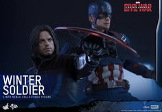 ToyzMag.com » Hot Toys – Civil War : Captain America & Winter Soldier