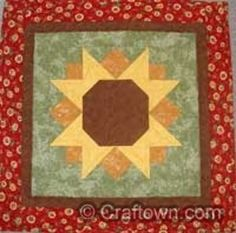 Sunshine Sunflower Table Topper | FaveQuilts.com