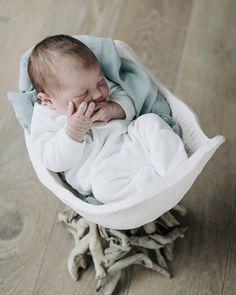 Baby vult weer buik afdruk