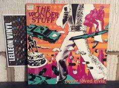 The Wonder Stuff Never Loved Elvis LP Album Vinyl Record 847252-1 Pop 90's Music:Records:Albums/ LPs:Indie/ Britpop:1990s