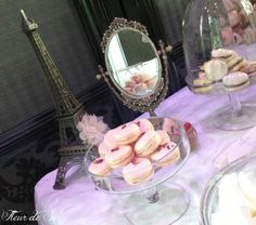 Paris themed wedding. See more party ideas at .
