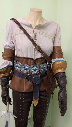 Ciri Cosplay Costume, The Witcher Wild Hunt, Ciri Witcher Costume, Cirilla Fiona Elen Riannon, Halloween Costume, Cosplay craft costumes.Our cosplay & craft on Etsy - Cosplay Mainland https://www.etsy.com/ru/your/shops/CosplayMainland/tools/CosplayMainland/ru/listings