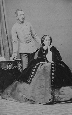 Archduchess Elisabeth Franziska and her brother Josef Karl