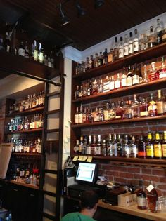The OKBB is less of a bar and more of classroom devoted to one of the true American art forms: Bourbon. You go to the Old Kentucky Bourbon Bart to be educated and if you come out with a buzz, that's just a happy coincidence.