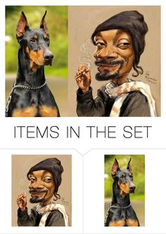 """""""Snoop Dogg/ 2 Items"""" by m-aviles-ma ❤ liked on Polyvore featuring art"""