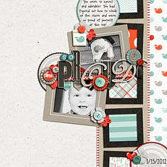 Super cute layout by heathergw at SSD