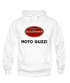 Felpa Con Cappuccio MOTO Guzzi racing Personalizzata: Amazon.it: Auto e Moto