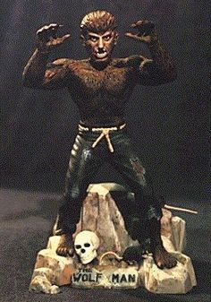 Aurora Wolfman. Wish my brother still had his monster series - perfect for Halloween!