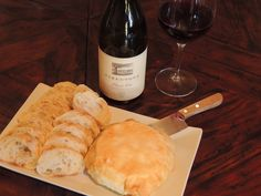 Brie en Croute paired with Firestone Pinot Noir