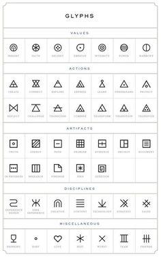 Best Geometric Tattoo - glyphs tattoo designs tattoos