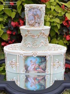 Cake by Elizabeth Balderaz, Yummy Tummy Pastries   Houston, TX    Jan. 2015   Volume 6 Issue 1 from CC Magazine
