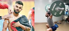 Virat Kohli, shared his zym workouts video with his fans on his social profiles.   Appeared on wednesday with taking bandages during practice session.   He is likely to participate in Friday IPL match