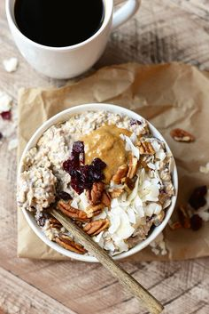 Breakfast doesn't get much better than Cranberry Pecan Overnight Oats. It'spacked with protein and whole grains not to mention DELISH. HAPPY SUNDAY! You guys. If you looked in my freez…