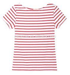 Afbeeldingsresultaat voor red and white striped t-shirt women