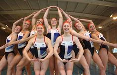 The British Synchronised swimming team