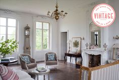 Vintage Decor: Relaxed French Flair