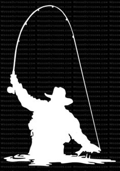 Fly Fisherman - Fly Fishing Window Decal
