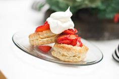 Bliss-Mary Peyton: Super Simple Strawberry Shortcake Pastry Shells, Cool Whip, Whipped Topping, Strawberry Shortcake, Super Simple, Waffles, Bliss, Mary, Baking