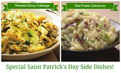 Special Saint Patrick's Day Side Dishes!