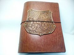Sheridan Embossing Herbal Coat of Arms A5 Journal Cover