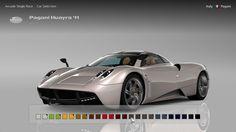 Paint Selection #GT6 #Menu #Interface