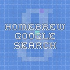 homebrew - Google Search