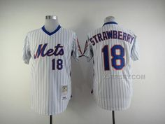 http://www.xjersey.com/mets-18-strawberry-whiteblue-stripe-jerseys.html Only$34.00 METS 18 STRAWBERRY WHITE(BLUE STRIPE) JERSEYS Free Shipping!