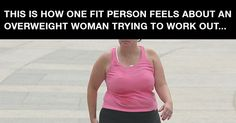 """""""To The Fatty Running On The Track This Afternoon""""...And To All Overweight People Who Exercise"""